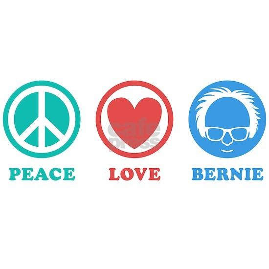 Peace Love Bernie Icons