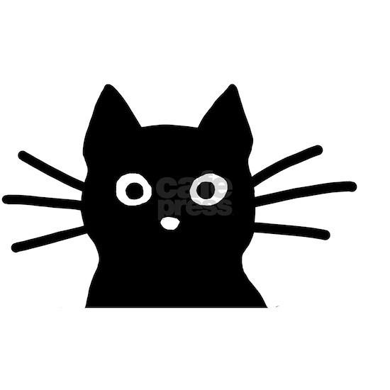 Black Cat Hitch Cover