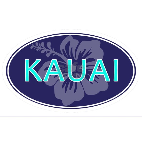 oval sticker_kauai