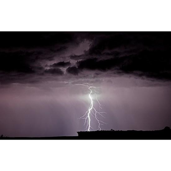 Lightning over Arches National Park