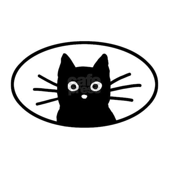blackcatfacesticker