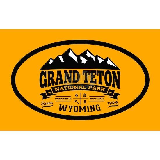 Grand Teton Vintage Oval