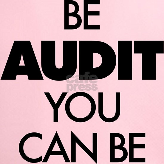 Be Audit You Can Be