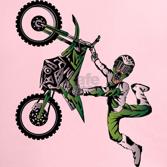 Motocross Freestyle Jumper Green