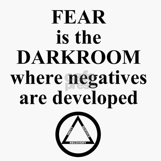 Fear is the Darkroom.....