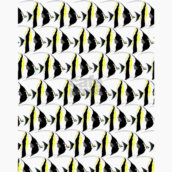 Moorish Idol Fish Pattern