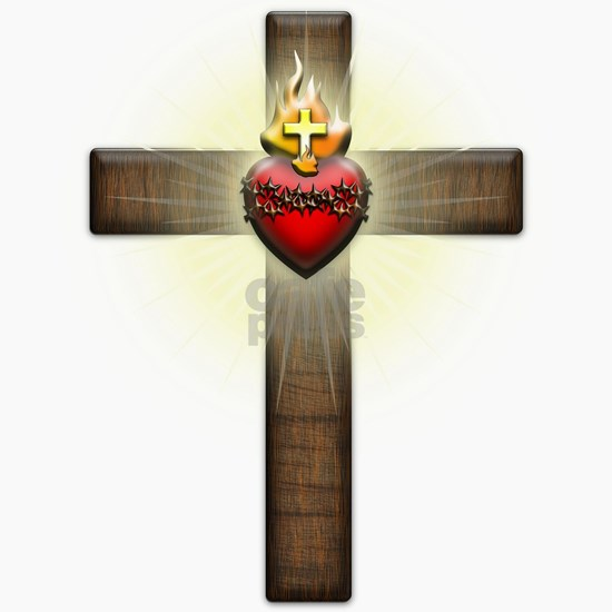 Sacred Heart of Jesus Cross
