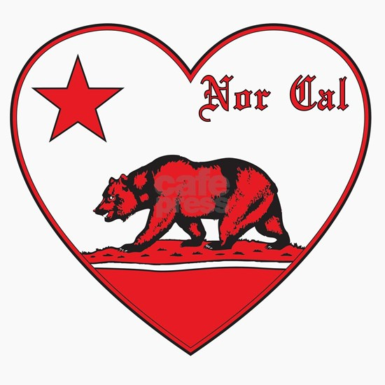 love nor cal bear red