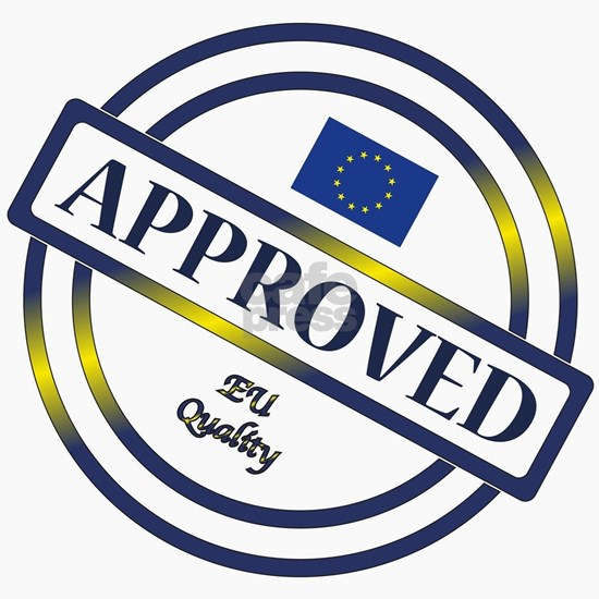 EU Approved Quality Stamp
