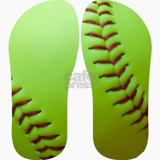 Optic Yellow Softball