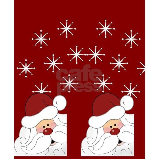 Santa Claus Holiday Christmas Flip Flops