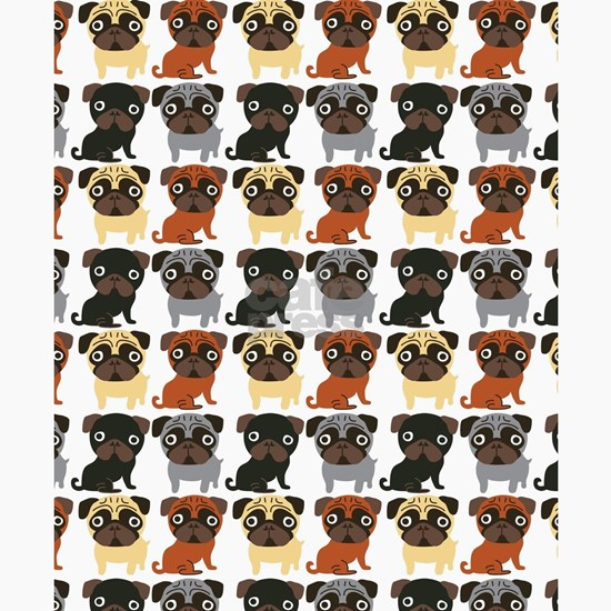 Pugs of Colors (1)