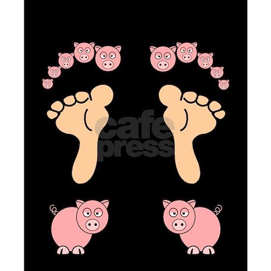piggy flip flops