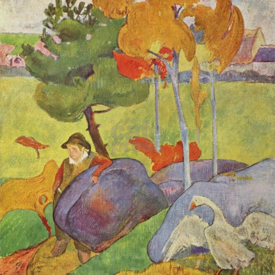 Rural France, Gauguin