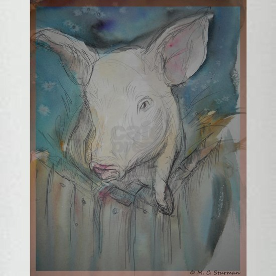 Piglet, animal art!