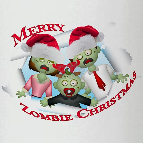 Merry Zombie Family Christmas