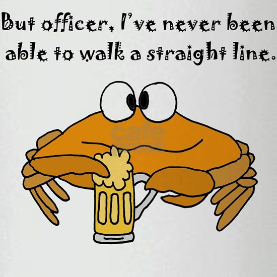 Beer Drinking Crab