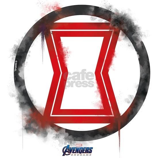 Red Black Black Widow Logo Drinking Glass By Marvel Cafepress