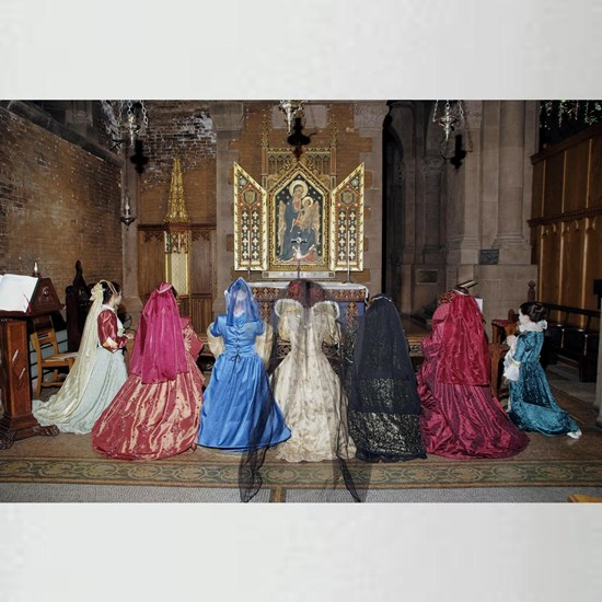 Her Majesty and Ladies at Prayer