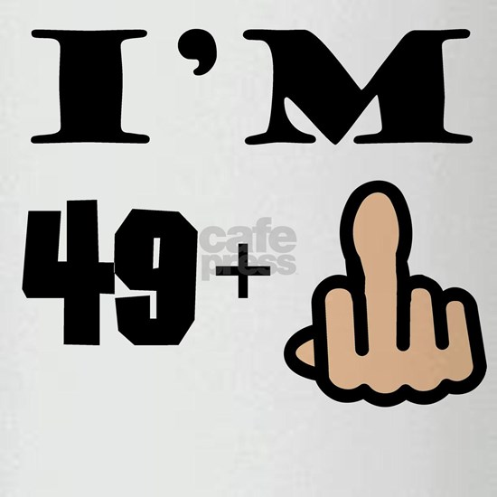 Middle Finger 50th Birthday