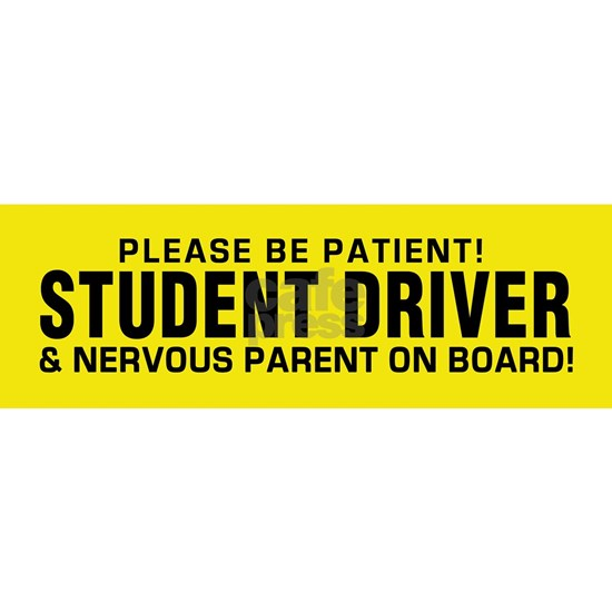 Student Driver  Parent on Board!
