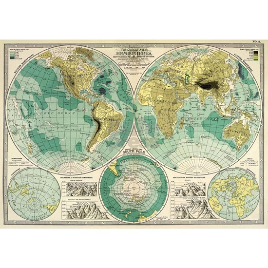 Old World Map Gifts
