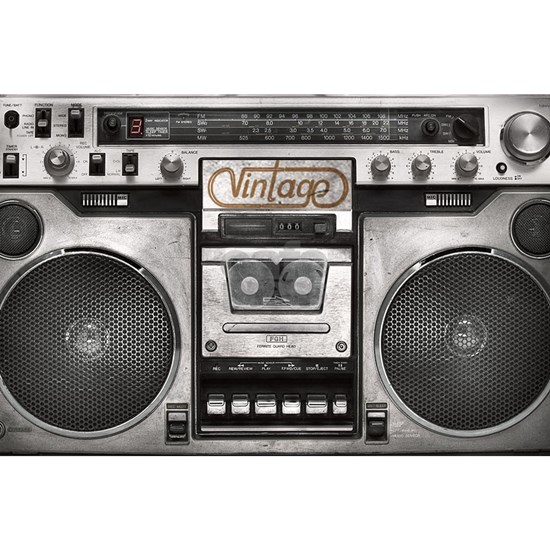 BOOM BOX LAPTOP SKIN
