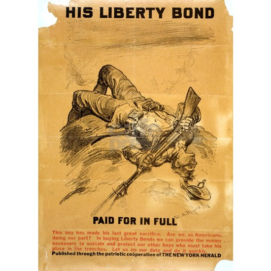 His Liberty Bond Paid For In Full - W A Rogers - 1