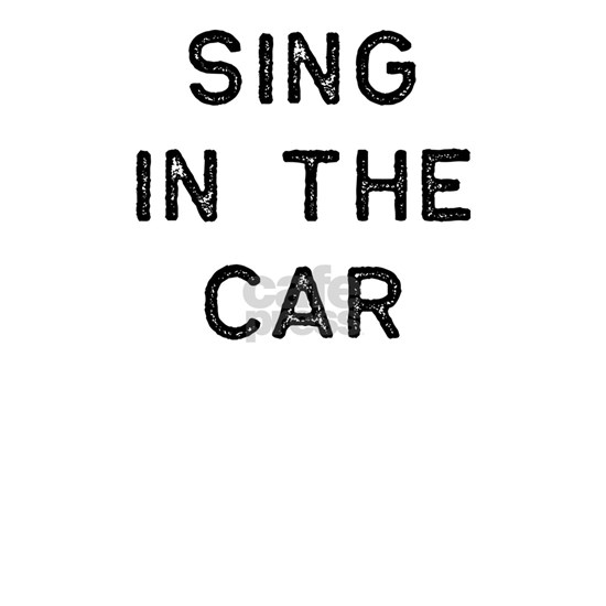 Music Shirt Sing In The Car Dark Song Writer Music