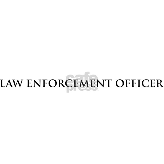 Proud Law Enforcement Officer License Plate Frame by T