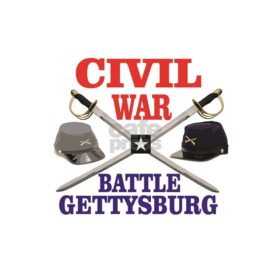 red blue battle of gettysburg