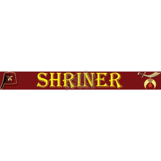 Shriner License maroonTOP