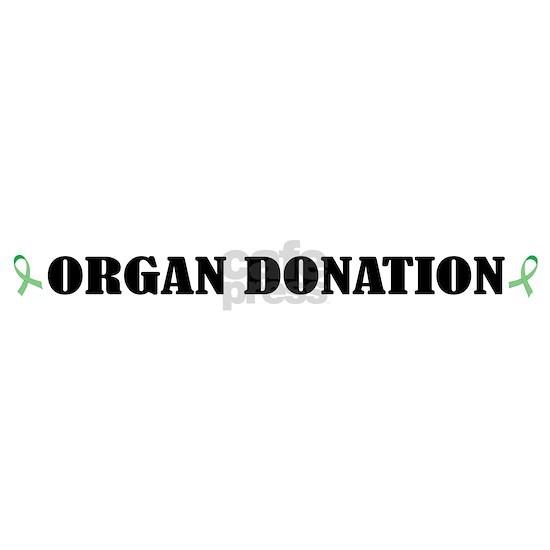 Bottom Organ Donation blk on white