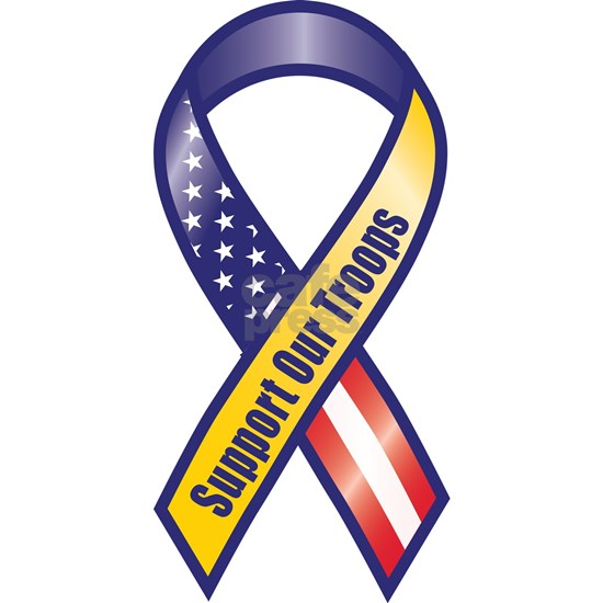 Support Our Troops - Ribbon