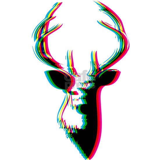 3D Deer - Awesome & Psychadelic