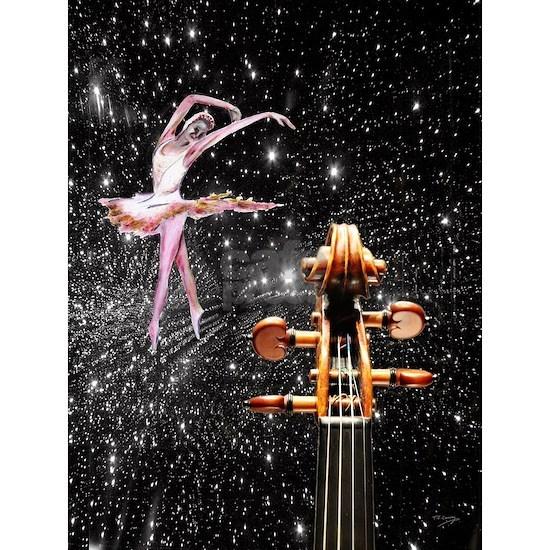 Violin and Ballet Dancer number 1