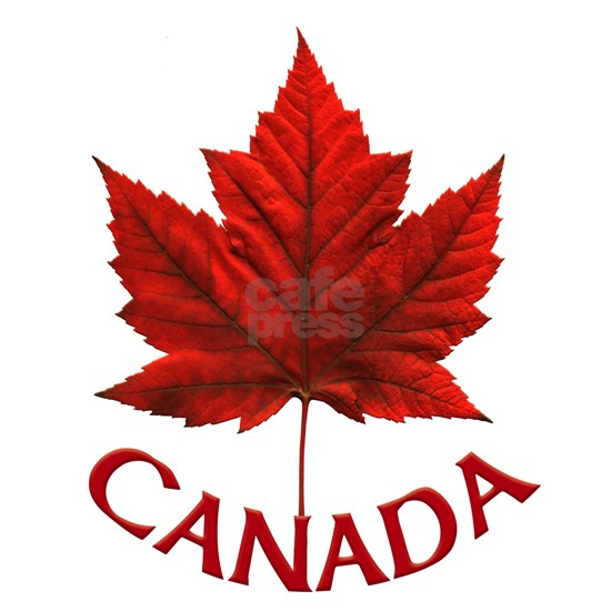 Canada Souvenir Gifts Maple Leaf Canada Day Button