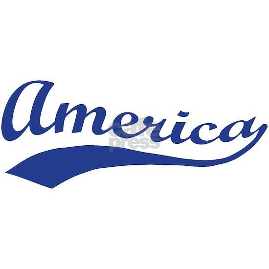 America Patriotic Script