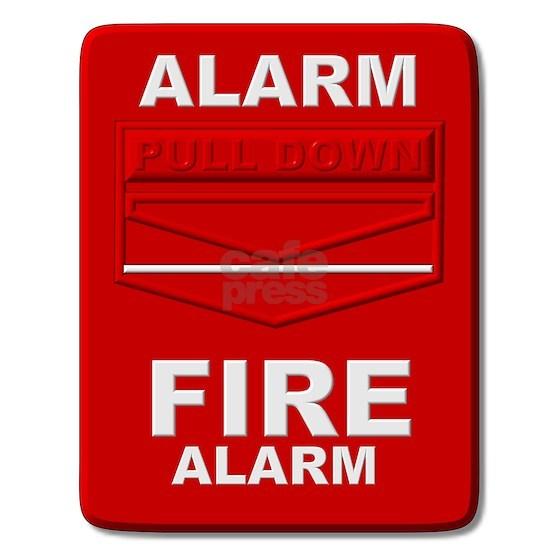 Alarm box red