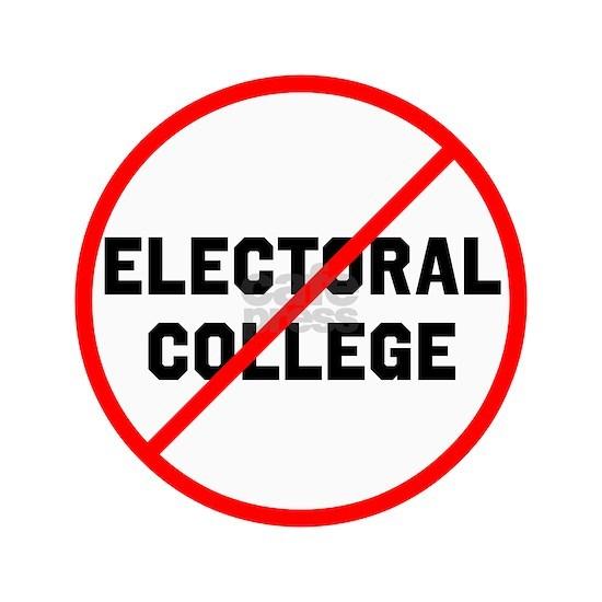 No electoral college