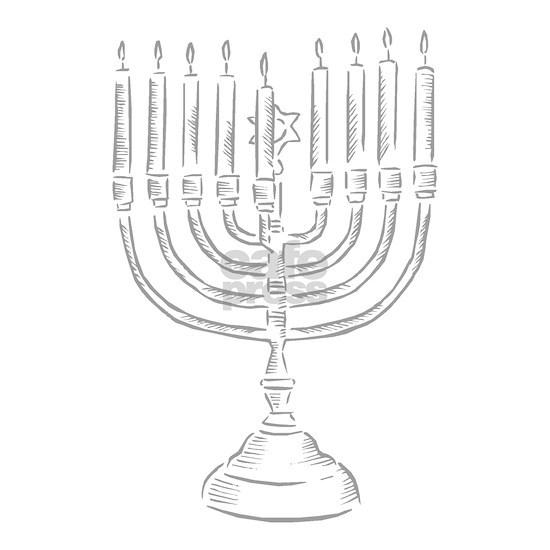 menorah for Hannukah