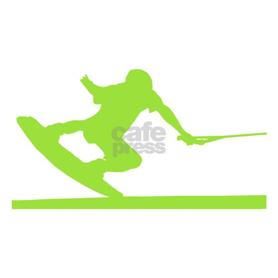 Green Wakeboard Nose Press