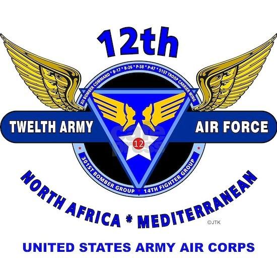 12TH ARMY AIR FORCE *ARMY AIR CORPS WORLD WAR II