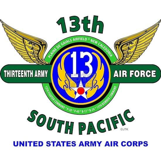 13TH ARMY AIR FORCE* ARMY AIR CORPS* WORLD WAR II