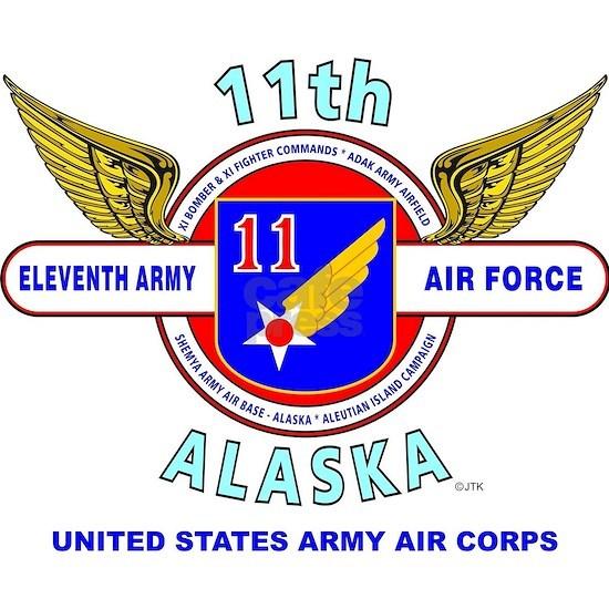 11TH ARMY AIR FORCE WORLD WAR II