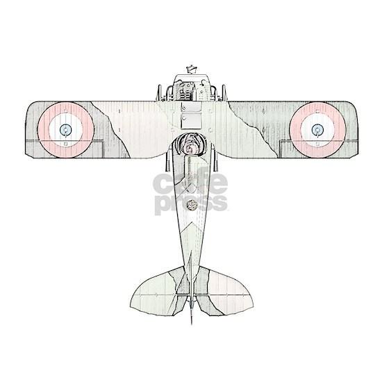 SPAD S.VII Biplane -Colored