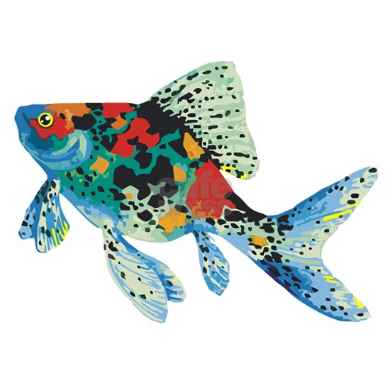 Colorful Spotted Fish