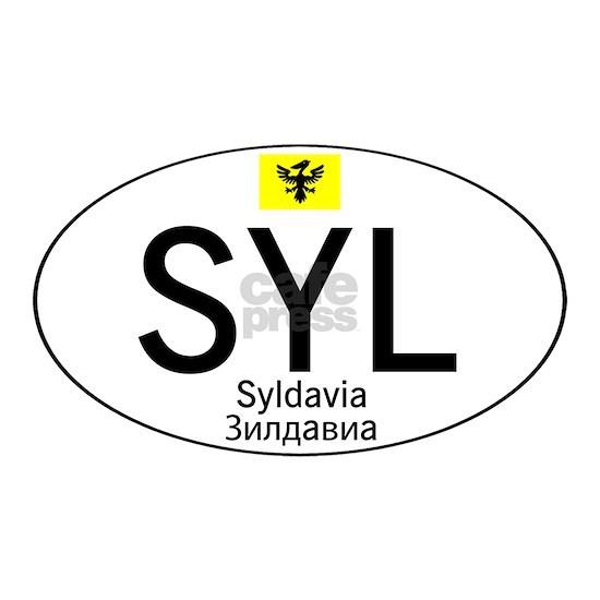 Car code Syldavia - White