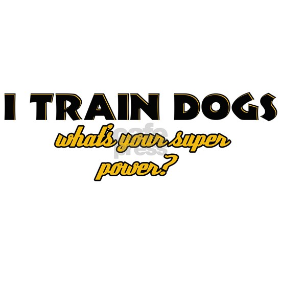 I Train Dogs what's your super power