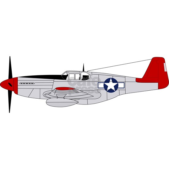 332nd Fighter Group P-51 Red Tails